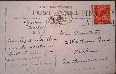 carlisle postcard 2